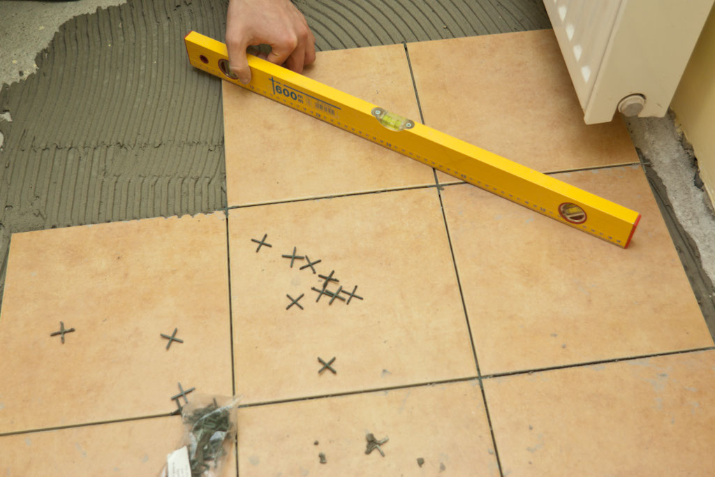 How to tile a concrete floor679